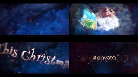 after effects template christmas fairy tale trailer youtube