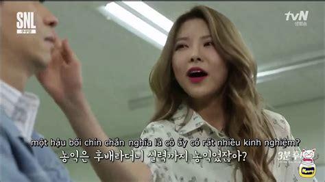 Korea 3m vietsub 170408 snl9 korea 3m hoobae nayoung cut honeynaong
