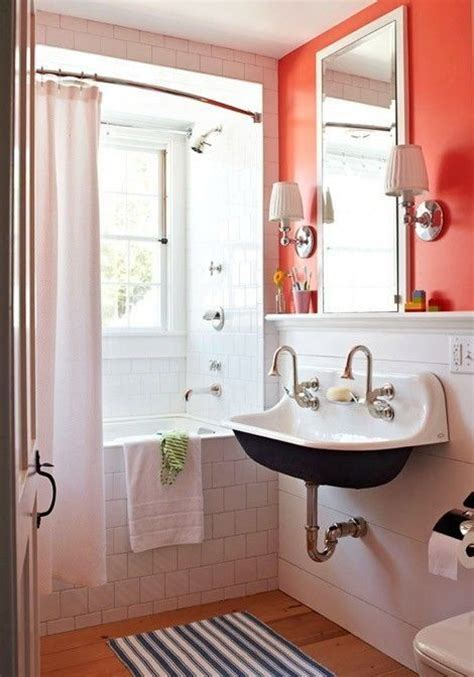 orange bathroom walls bright orange bathroom bathroom in orange color pinterest