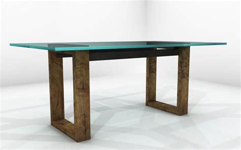 mesa comedor madera y cristal mesa de comedor de madera y vidrio mesas de comedor