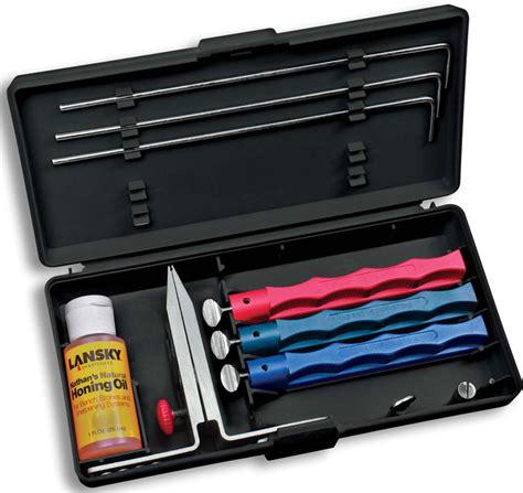 lansky sharpener lansky knife sharpener standard sharpening system lk lkc03