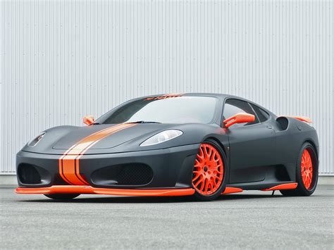 orange ferrari super exotic and concept cars ferrari 430 scuderia
