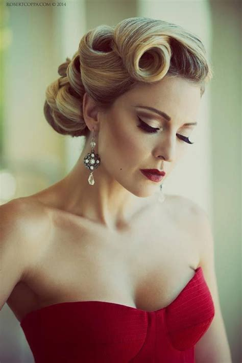 updo hair style for the older women method 25 best ideas about victory rolls updo on pinterest