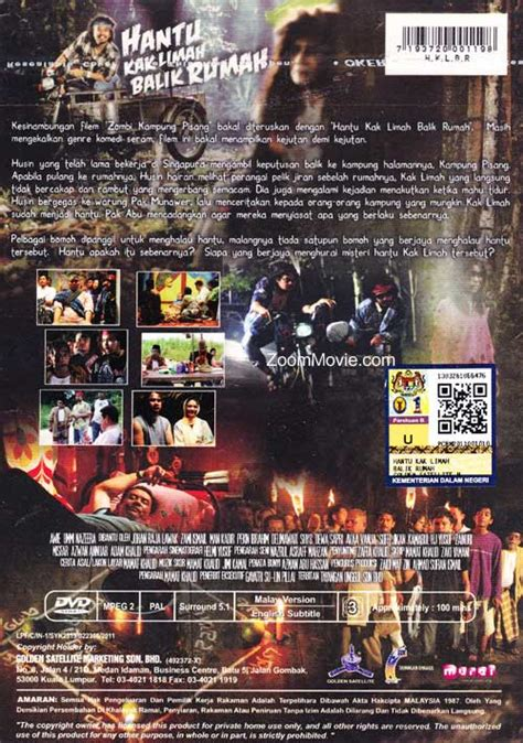 film hantu kak limah balik rumah hantu kak limah balik rumah dvd malay movie cast by awie