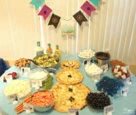 Frozen party food ideas frozen themed party foods