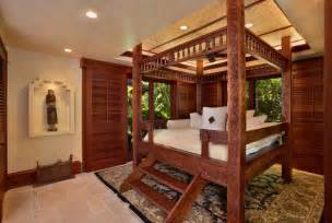 Tropical Bedroom bali house tropical bedroom hawaii by rick ryniak