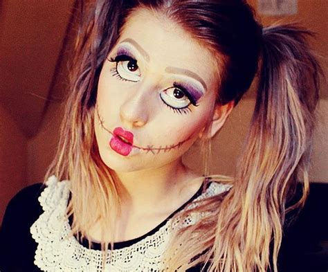 pop doll makeup 18 terrific makeup ideas to step up your spooky