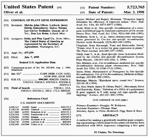 patent specification template how to read a patent