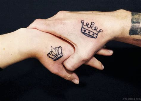 crown tattoos for couples 48 king and tattoos for wrist