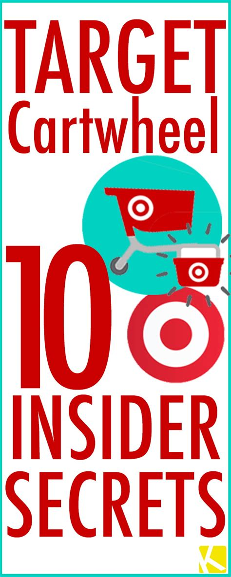 5 target shopping hacks guaranteed to save you money target cartwheel 10 insider secrets you must know the
