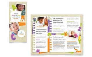 Brochure Template Free Word by Kindergarten Tri Fold Brochure Template Word Publisher