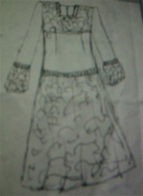 cara membuat pola baju anak sederhana icha diyah cara mudah membuat pola gaun