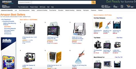 top 10 highest best selling products on amazon 3ders org an updated insight into top selling 3d