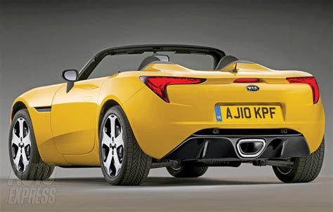 kia roadster two seater concept 1 korean cars