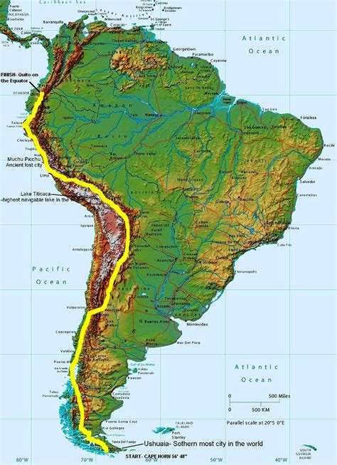andes mountains map ias various maps