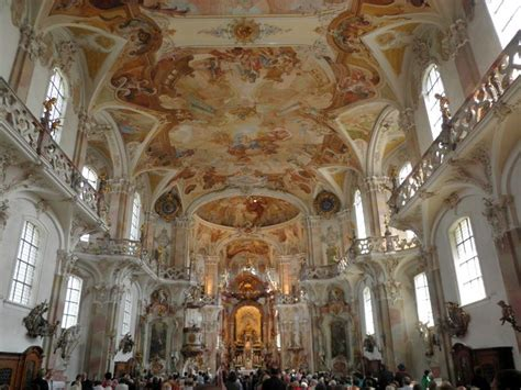 the baroque baroque architecture in central europe german rococo germany pilgrimage church at birnau 1746