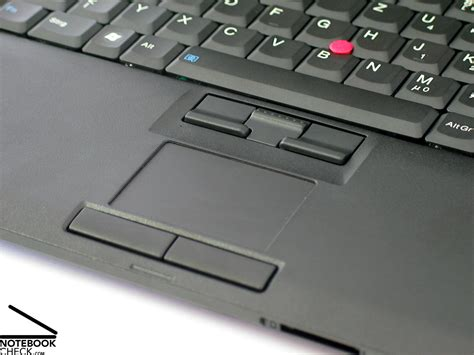 Touchpad Lenovo review lenovo thinkpad r61 notebook notebookcheck net reviews