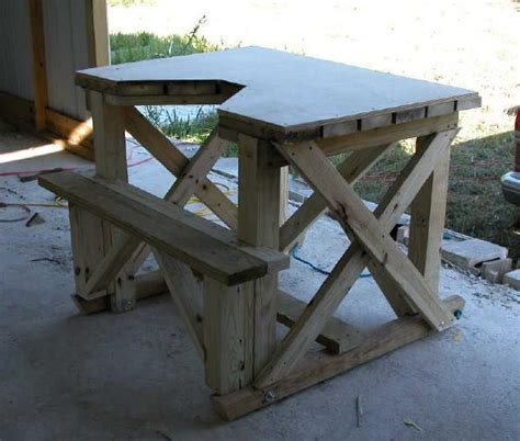portable shooting bench building plans 1000 ideas about shooting bench on pinterest portable