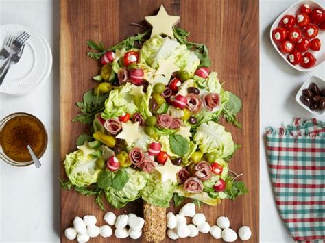 christmas tree saver recipe tree antipasto salad recipe food network kitchen food network