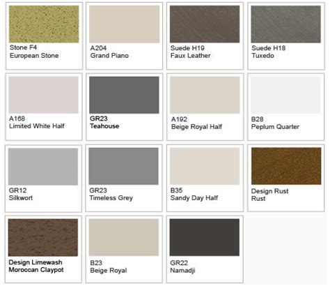 paint colour palette from dulux