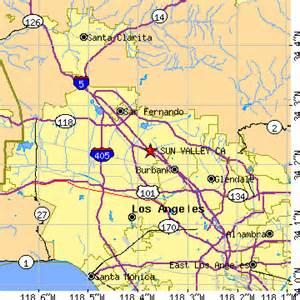 sun valley california map sun valley california ca population data races
