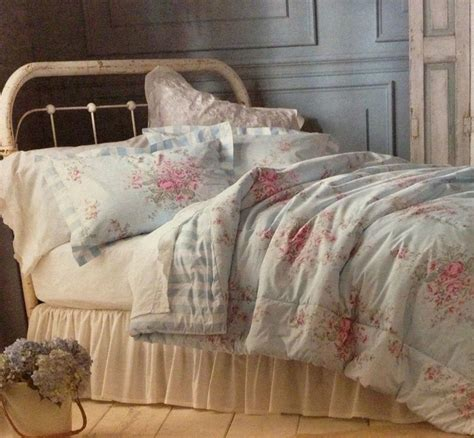 modern kids bedding shabby chic full queen comforter set pink roses bedding