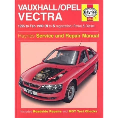 Haynes Workshop Manual For Vauxhall Vectra
