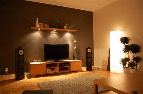 Great Living Room Lighting Warm Tech Living Room With Great Lighting Interior