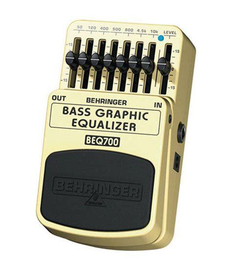Behringer Bass Graphic Equalizer Beq 700 behringer beq700 bass graphic equalizer pedal buy behringer beq700 bass graphic equalizer pedal