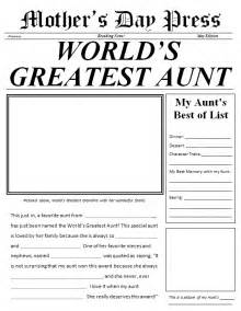 easy newspaper template s day made easy 3 gifts scholastic