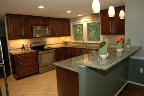 Kitchen Remodel U Shaped U Shaped Kitchen Remodel Contemporary Kitchen Dc