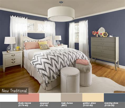new traditional color trend by benjamin