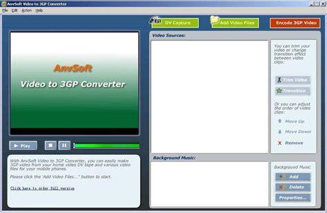 3gp converter software free download anvsoft ipod movie maker download transfer your digital