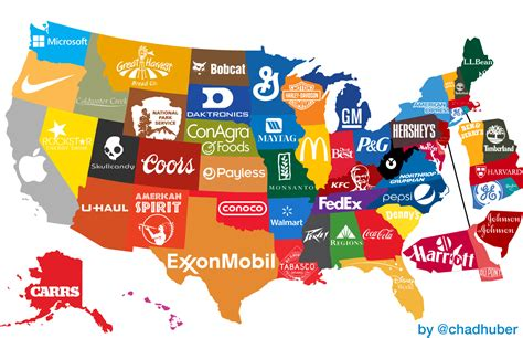 american map corporation the corporate states of america states and their