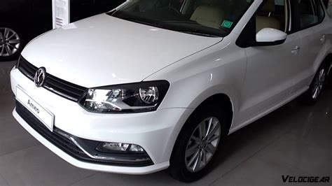 volkswagen ameo white volkswagen ameo review walk around