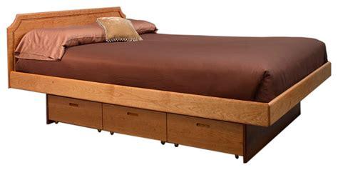 Pedestal Bed platform pedestal bed contemporary platform beds dc metro by hardwood artisans