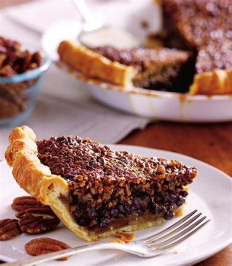 chocolate pecan bourbon pie recipe  perfectpies ifoodtv