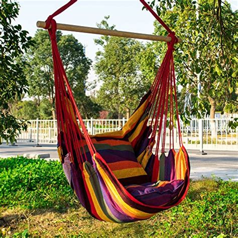 Large Outdoor Hammock Everking Hanging Rope Hammock Chair Porch Swing Seat