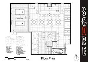 Bar Floor Plans score sports bar and grill openbuildings