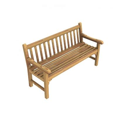 the green benches green teak bench by unopiu outdoor furniture