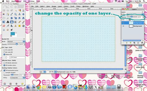 dot pattern gimp 365 days of diy making a pattern in gimp