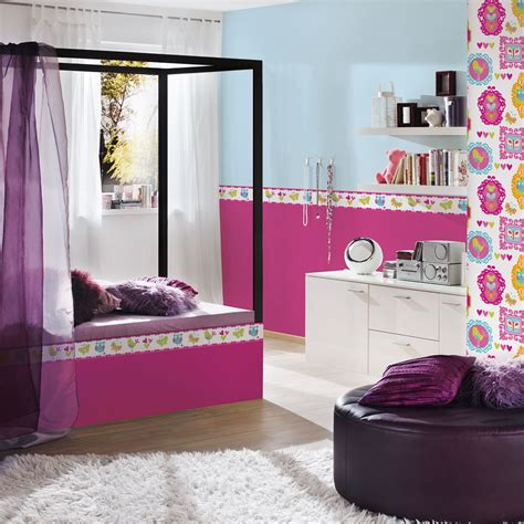 wallpaper borders for girls bedroom girls generic bedroom wallpaper borders butterfly flowers