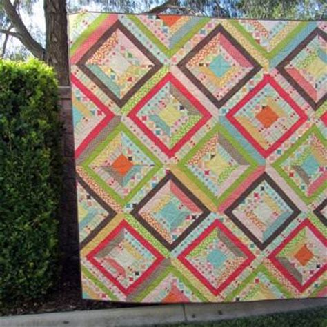 Patterned Quilts Bedding Kaleidoscope Quilt Tutorial Quilt Patterns Tip Junkie