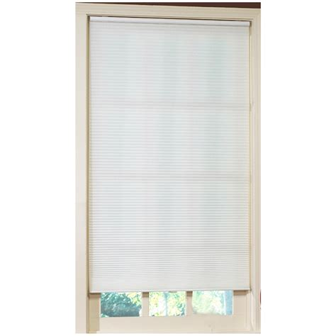 Cordless Cellular Blinds Shop Allen Roth White Light Filtering Cordless Polyester