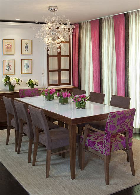 perfect dining chairs  cozy luxurious  bold dining