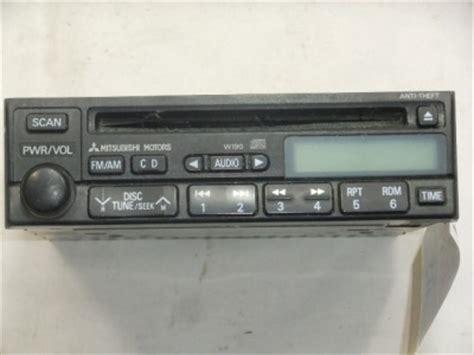 mitsubishi montero radio code radio mitsubishi diamante galant montero 2001 2002 w