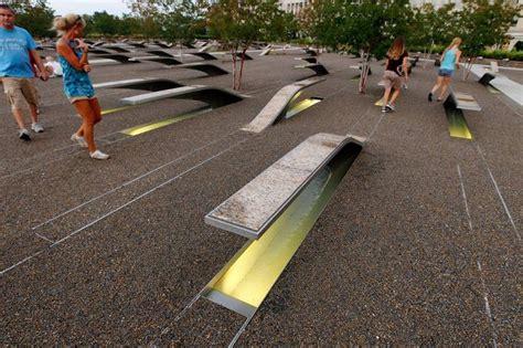 pentagon memorial benches meaning pentagon memorial a sobering site