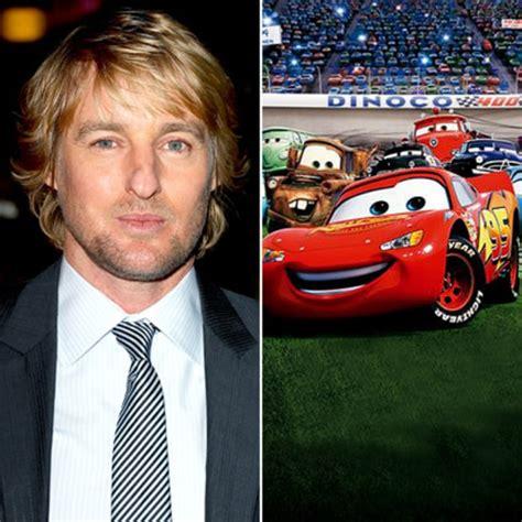 owen wilson cars owen wilson cars stars as cartoon characters us weekly