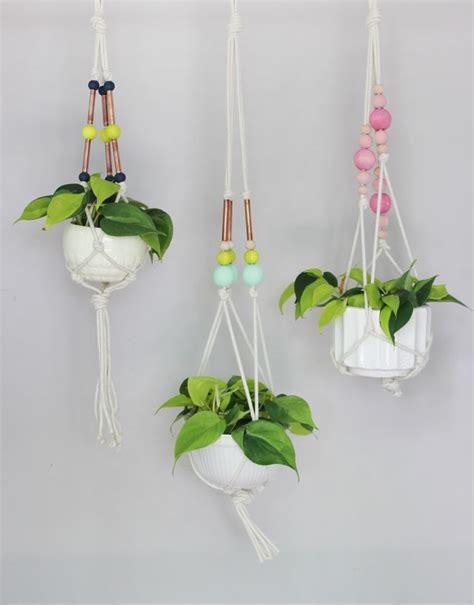 hanging plant diy original diy colorful hanging window planters