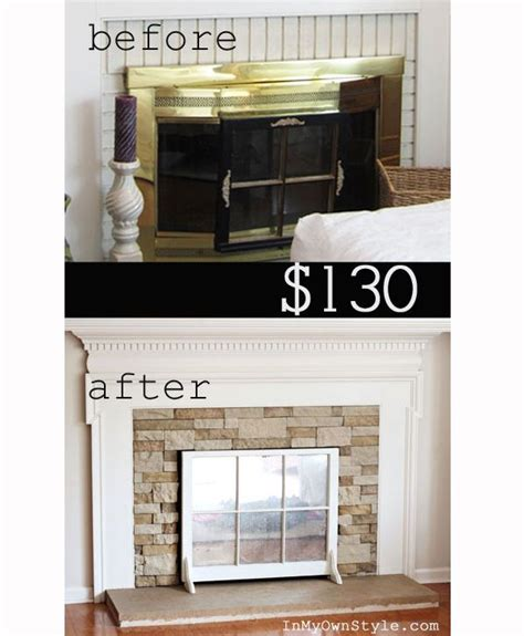 removing brick fireplace surround woodworking projects